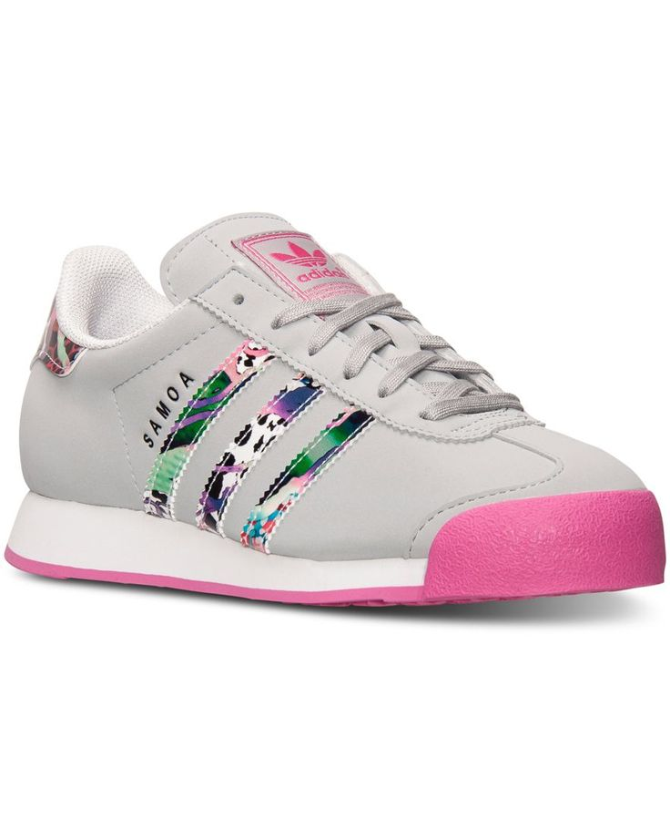 adidas Big Girls\u0027 Samoa Casual Sneakers from Finish Line - Finish Line Athletic  Shoes - Kids \u0026 Baby - Macy\u0027s