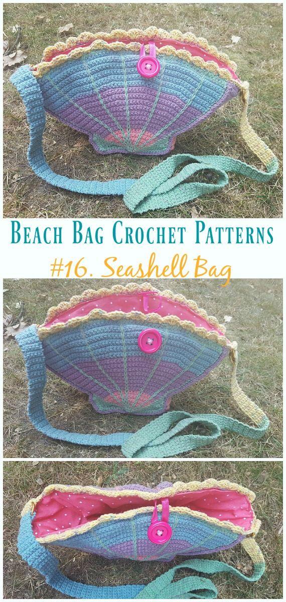Summer Beach Bag Free Crochet Patterns Crochet And Knitting
