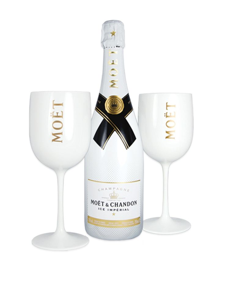 Moët Ice Impérial Limited Edition Summer Collection With 2 Moet Goblets