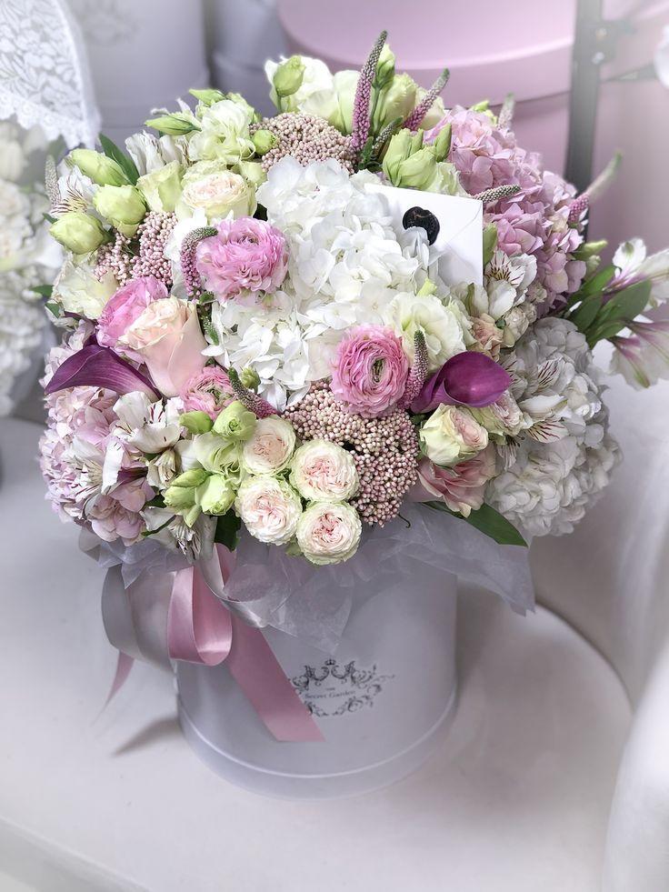 pastel flower box arrangement image by The Secret Garden