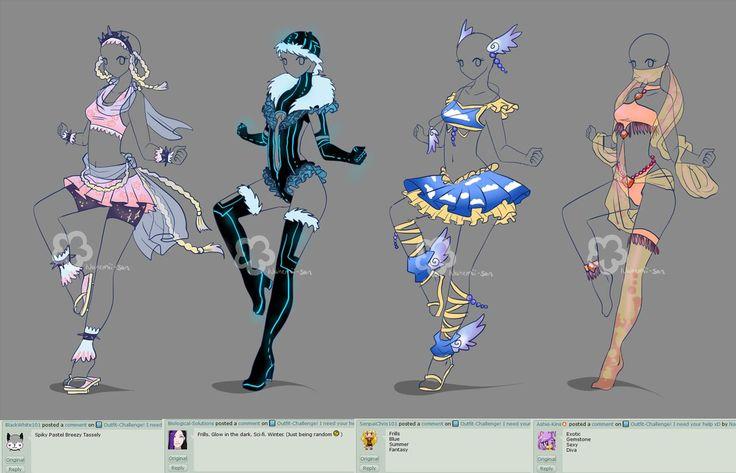 Gute Lösung, um Kleidung für Charaktere zu entwerfen