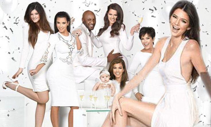 Kim Unveils The All White Kardashian Family Christmas Card