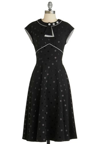 Every Dot of You Dress, #ModCloth