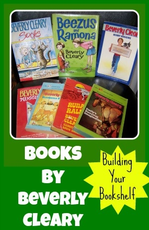 Who doesn't love Ramona??  Books by Beverly Cleary and links to free activities!