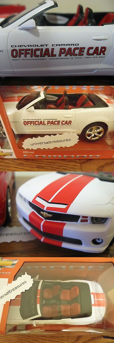 Promo 2592: 2011 Chevy Camaro Ss Convertible Indy Pace Car Promotional Model Car Amt Le -> BUY IT NOW ONLY: $85 on eBay!