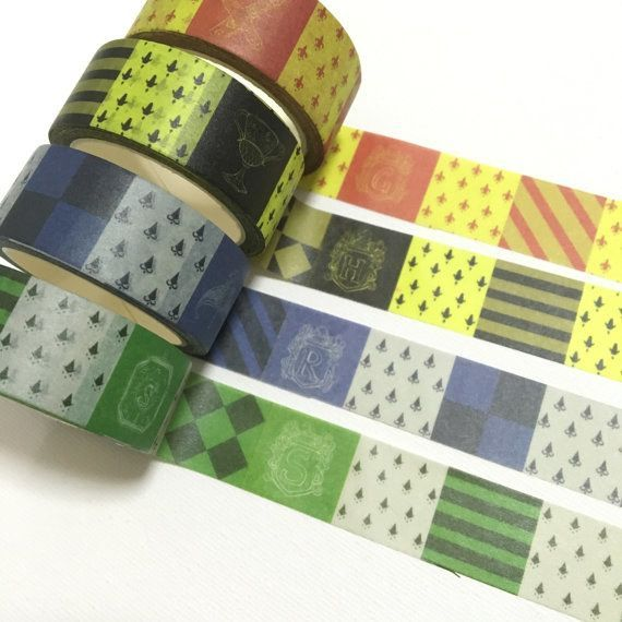 Washi Tape | 21 Harry Potter School Supplies That Will Make You A Total Hermione