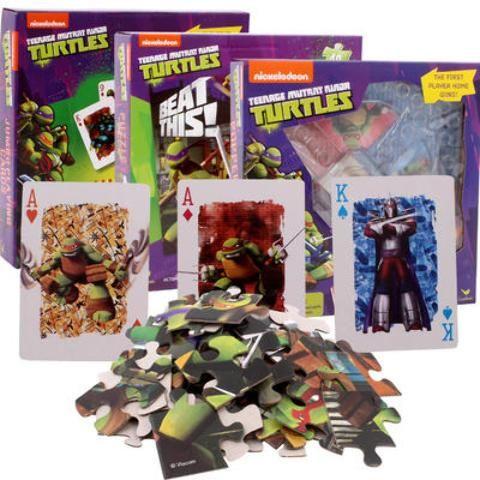Nickelodeon Ninja Turtles Game 3-Pack - 24 Units