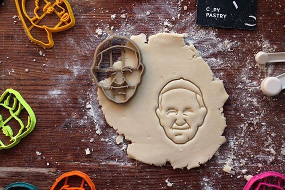 Pope Francis Cookie Cutter