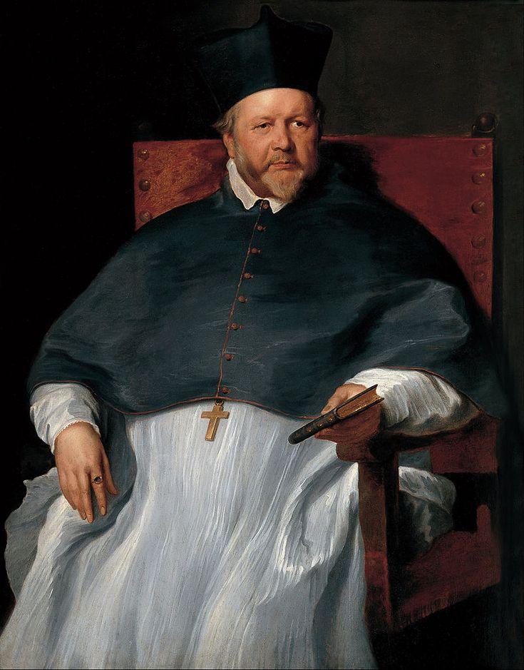 Antoine van Dyck-L'Eveque Jan van Malderen 1628-1630 Madrid