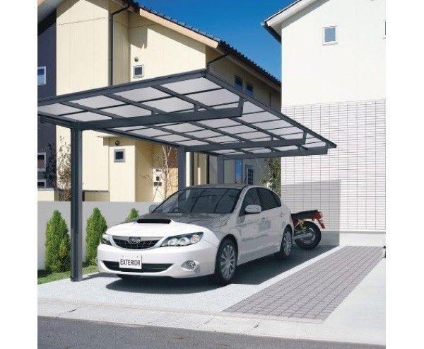 Carport Roof Canopy Kit Mlc Freestanding Car Port In Black Flat Roof Design Free Standing Carport Carport Designs