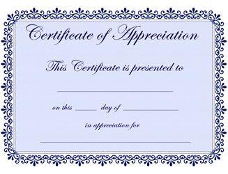 Best 25+ Certificate of appreciation ideas on Pinterest