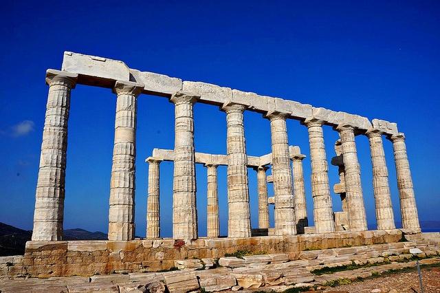 VISIT GREECE| Temple of Poseidon, at #Sounion