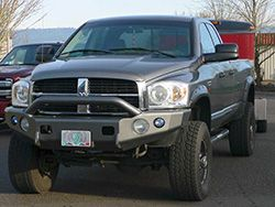 TrailReady Bumpers for Dodge Ram 1500, 2500, 3500