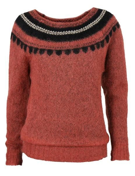 A very light and soft mohair sweater for ladies. 57% Super Kid Mohair, 27% nylon, 5% wool, 1% metalized yarn