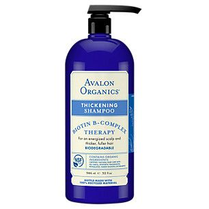 Thickening Shampoo Biotin B Complex Therapy (32 Fluid Ounces Liquid)  by Avalon Natural Products at the Vitamin Shoppe