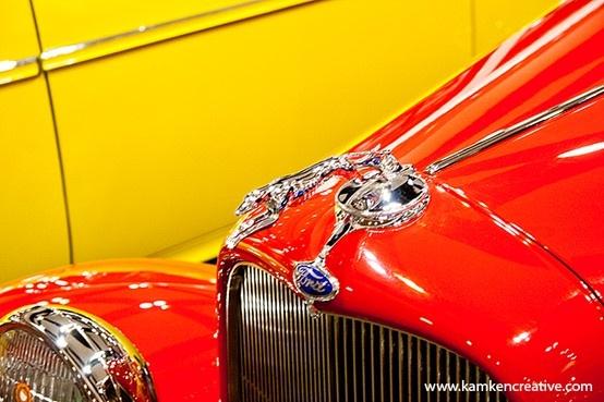 Vintage Red Ford