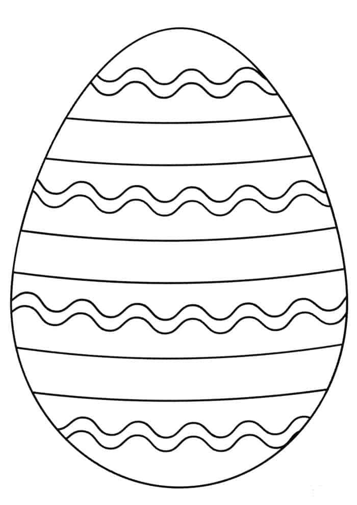 Striped Easter Egg Coloring Pages Egg Coloring Page Coloring Eggs Coloring Easter Eggs