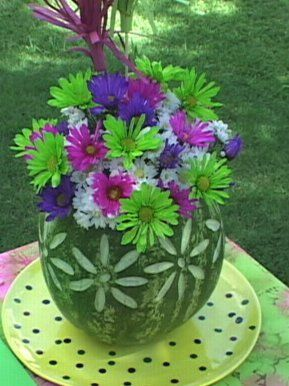 Craft Studios - Free Craft Project! Carved Watermelon Bowl