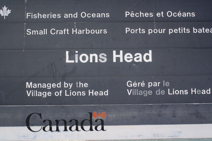 Lions Head / Bruce Peninsula - Cool place!