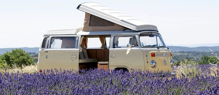 69 campers. VW busses for hire for touring France