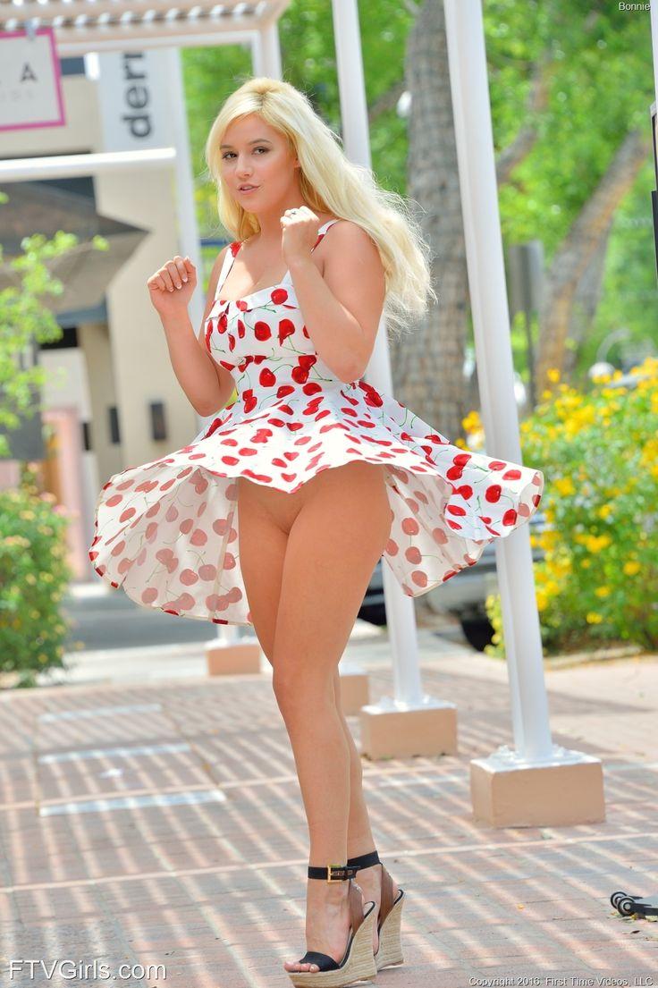 Sexy girls in sun dresses