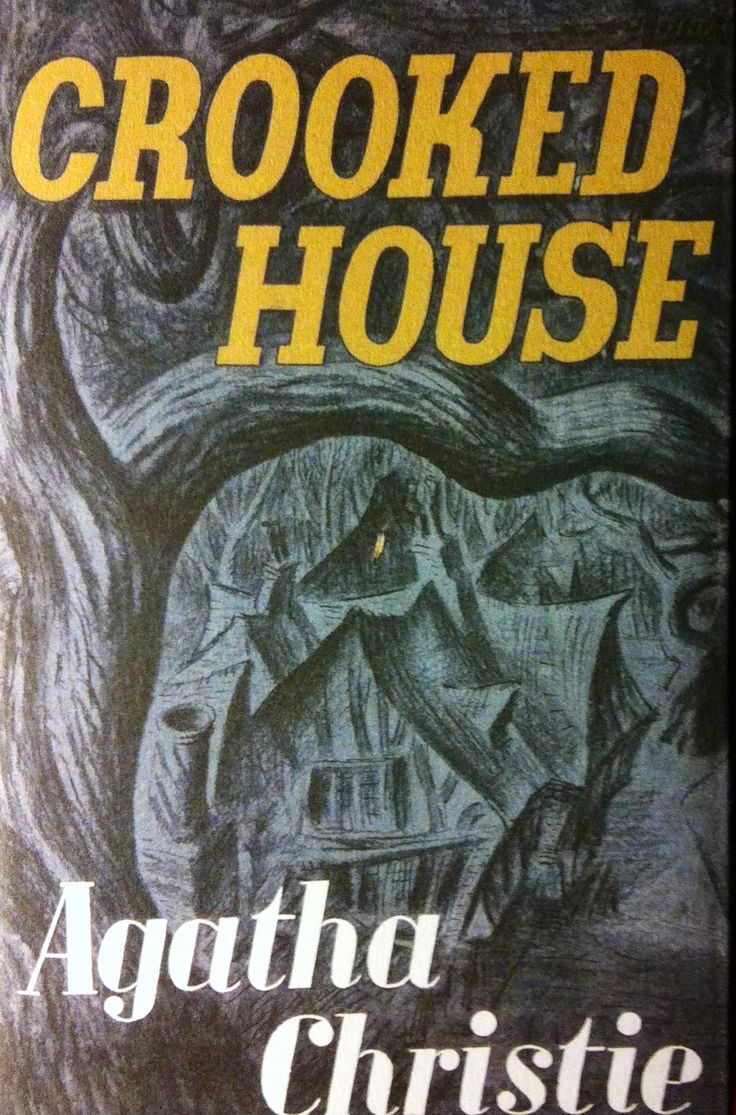 Crooked house by agatha christie first edition dust