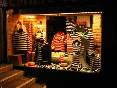Gondolier clothing store  San Polo, Venice