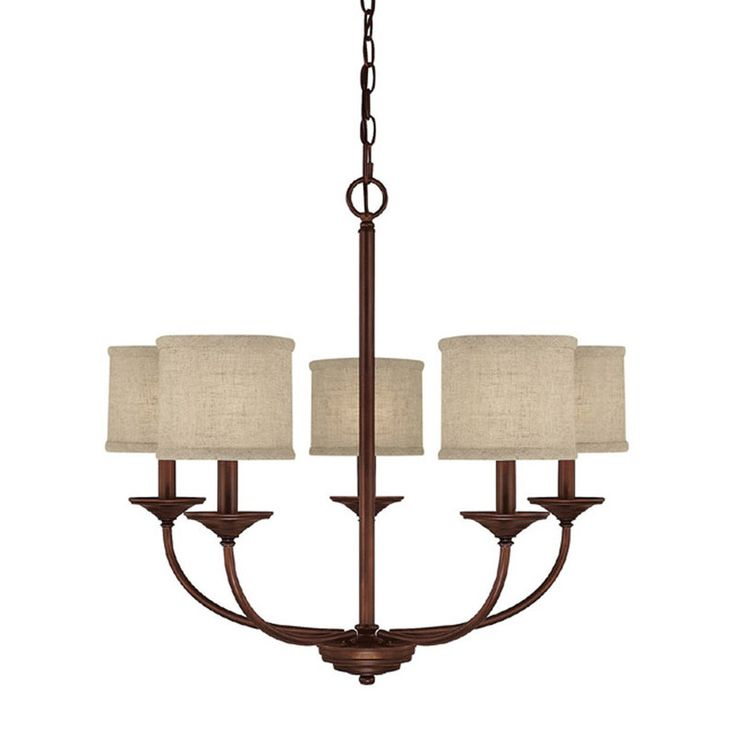 View the Capital Lighting 3925-468 Loft 5 Light 1 Tier Chandelier at Build.com.