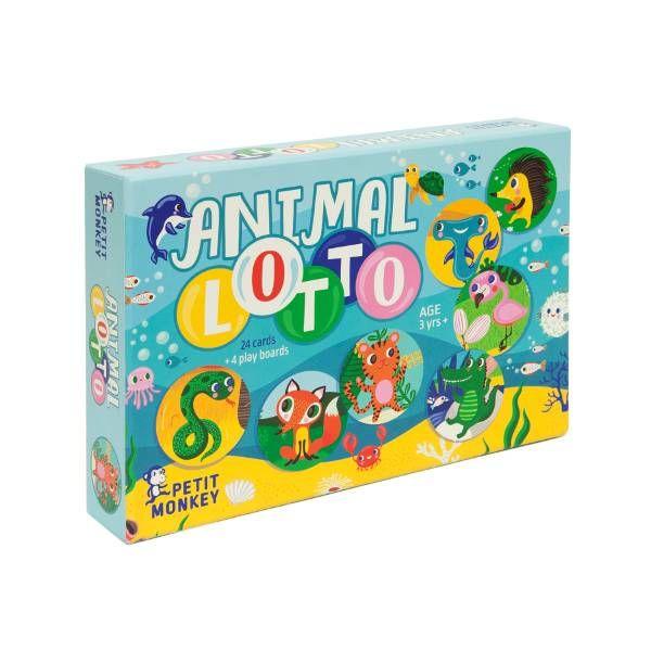 Petit Monkey Lottospel Animal Lotto
