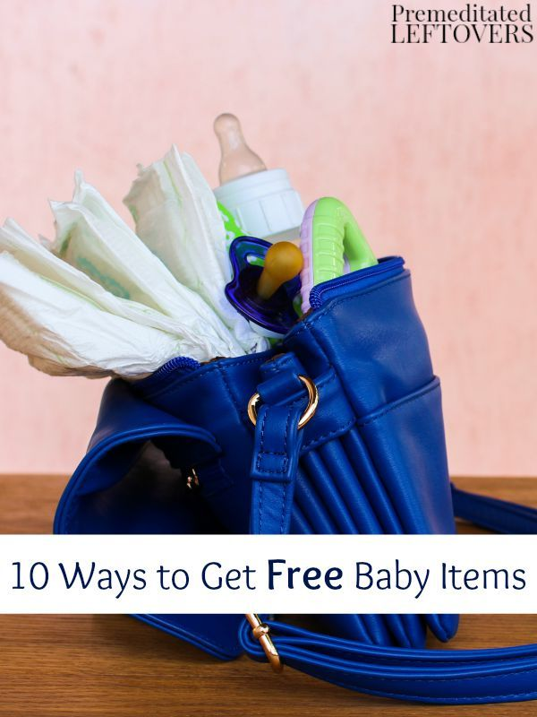 10 Ways to Get Free Baby Items- If you are expecting or know someone who is, take at look at these helpful ways to get free baby items quickly and easily.