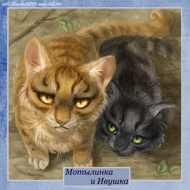 коты воители с именами и картинками породы