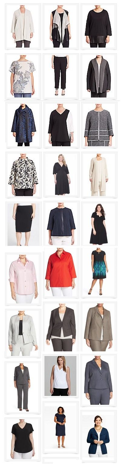 We just updated our plus-size workwear page with TONS of recommendations - check 'em out!