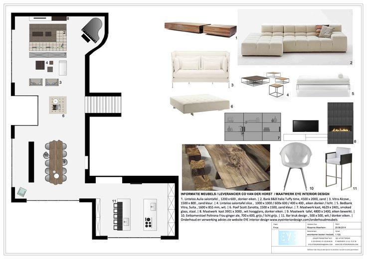 Project finca Ibiza , meubel voorstel - EYE INTERIOR DESIGN