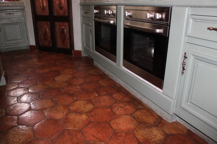 spanish kitchen tiles kitchens with floor tile terracotta tile kitchen 2418