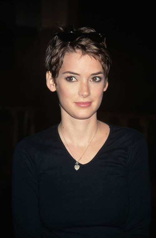 Super Short Brown Pixie for Girls