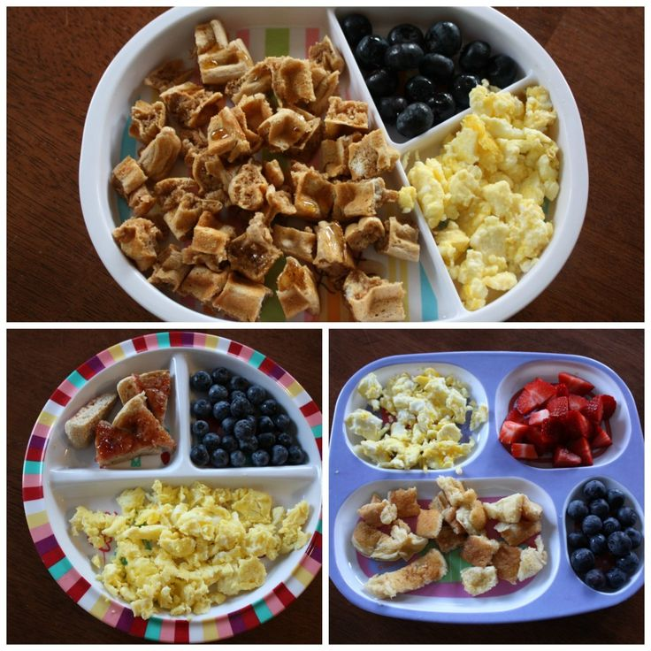 18 Month Old Munchin Meals Breakfast