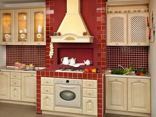 Gemütliche Küche im Landhausstil einrichten Küchenbilder