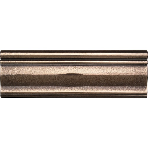 Polished Bronze Ashlar Chair Rail