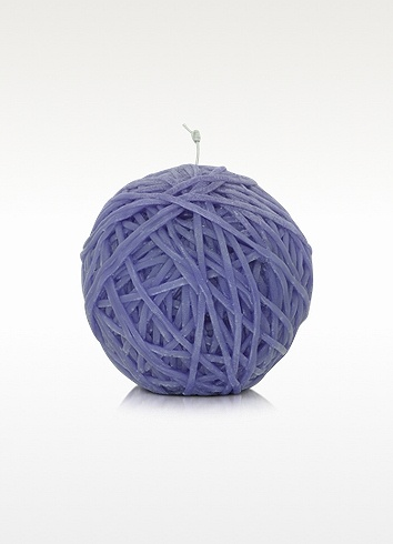 Missoni Home - Gomitolo Purple Wax Ball of Yarn Candle