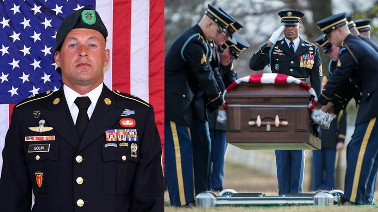 Full honor funeral for U.S. Army Sgt. 1st Class (SFC) Mihail Golin, in Section 60 of Arlington National Cemetery, Arlington, Virginia on January 22, 2018. Mihail Golin, an 18B Special Forces Weapons Sergeant assigned to 10th Special Forces Group (Airborne) died January 1, 2018 ... as a result of wounds sustained while engaged in combat operations in Nangarhar Province, Afghanistan. SFC Mihail Golin deployed to Afghanistan in September 2017 with the 2nd Battalion, 10th Special Forces Group…