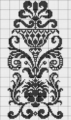 Other 29 | Free chart for cross-stitch, filet crochet | gancedo.eu