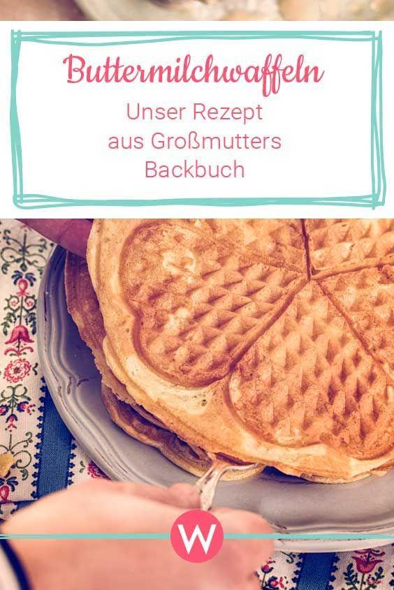 Buttermilchwaffeln: Das einfache Rezept aus Omas Backbuch