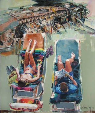 """Saatchi Art Artist MARTINHO DIAS - """"Crimea"""""""