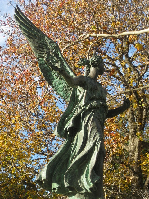 The Winged Victory Statue - Victoria Gardens, Prahran