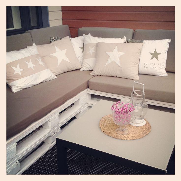 #DIY #sofa # Pellets