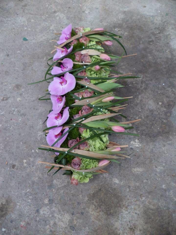 Paarse orchideeën