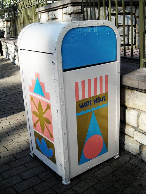 Can You Identify These Disneyland Locations By Their Trashcans. I got 6 out of 10.