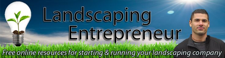 Starting a landscaping or lawn mowing business requires a lot of education, but is a very lucrative business venture. Here we are offering you free online resources for starting and running your landscaping company. For more details visit us at www.landscapingentrepreneur.com