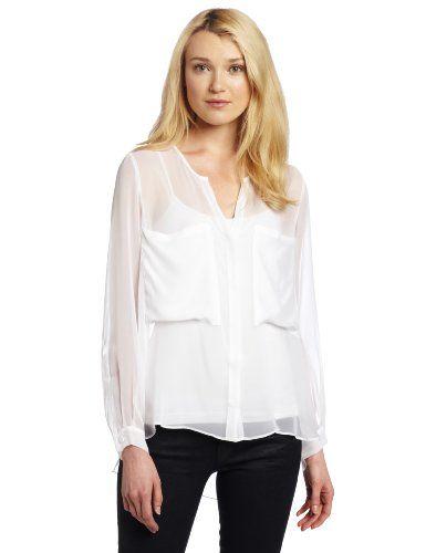 Oversized Blouse by David Lerner - $308: Clothing Usa, Blouses, Lerner Blouse, Lerner Women S, Women S Oversized, Long Sleeve, David Lerner, Blouse David