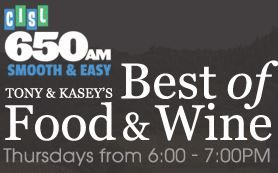 Want to learn more about what Salt Spring Island has to offer? Look no further! This entertaining interview with Tony and Kasey on 650 CISL's Best of Food and Wine has great information on the culinary movement on Salt Spring, an interview with winemaker Elaine Kozak from Garry Oaks Winery and sheep farmer Sandy Robley